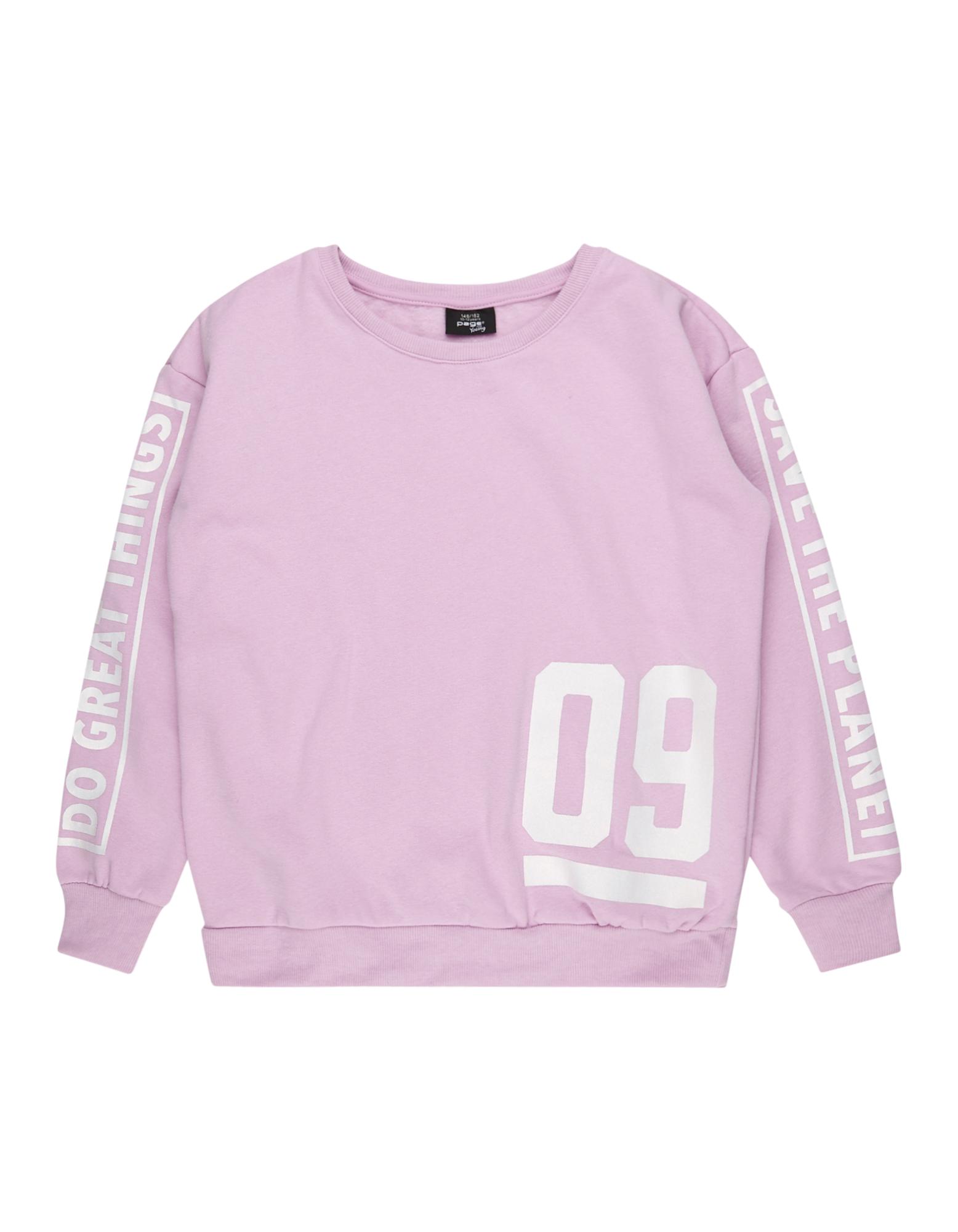 Mädchen Sweatshirt mit Prints  | 81488054690104