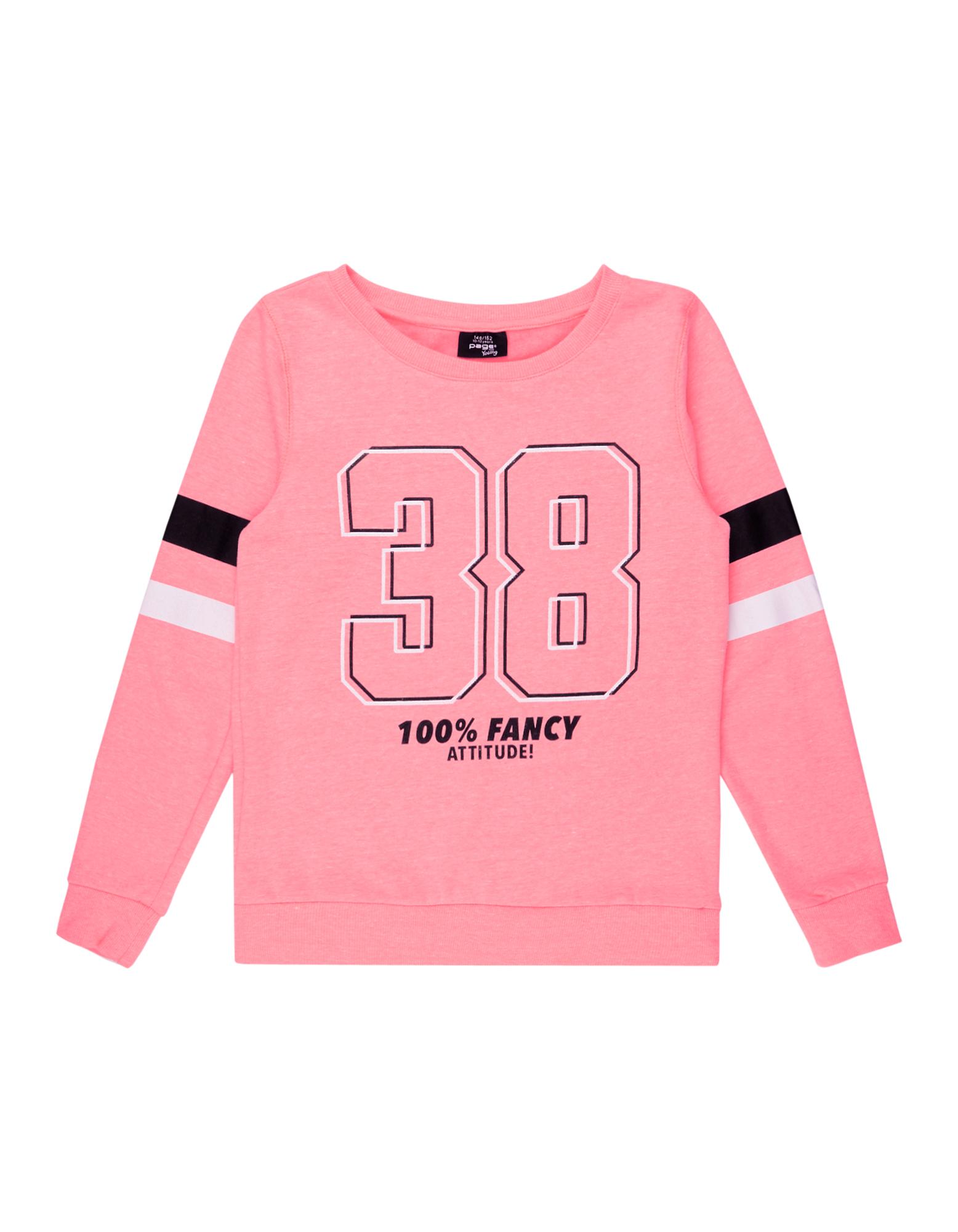 Mädchen Sweatshirt mit Logo-Print  | 81486344480305