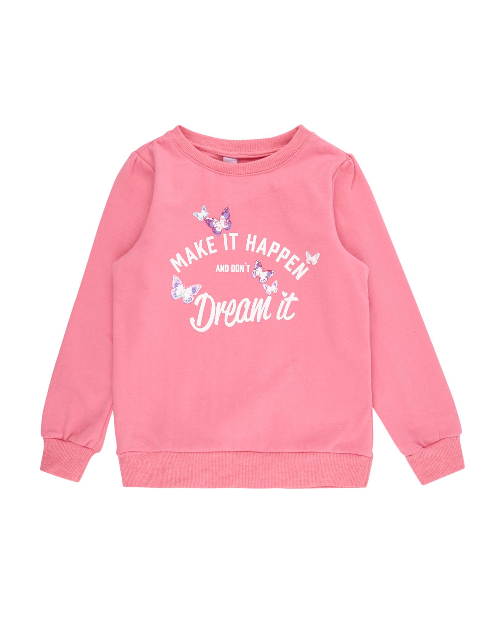 Mädchen Sweatshirt mit Messge-Print  | 81487251020400