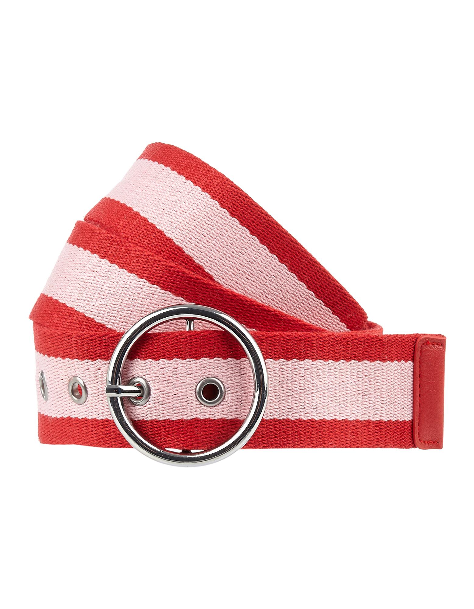 Damen Gürtel aus Textil mit rundem Verschluss  | 81599273280509