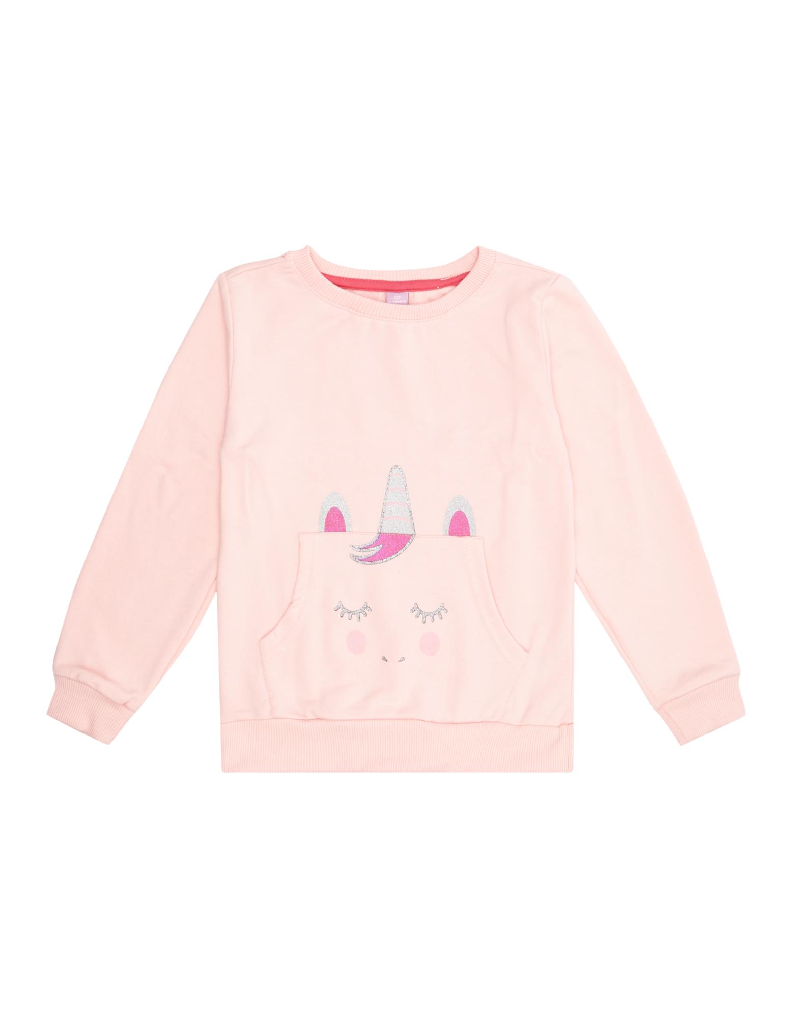 Mädchen Sweatshirt mit Einhorn-Print    81533494630408