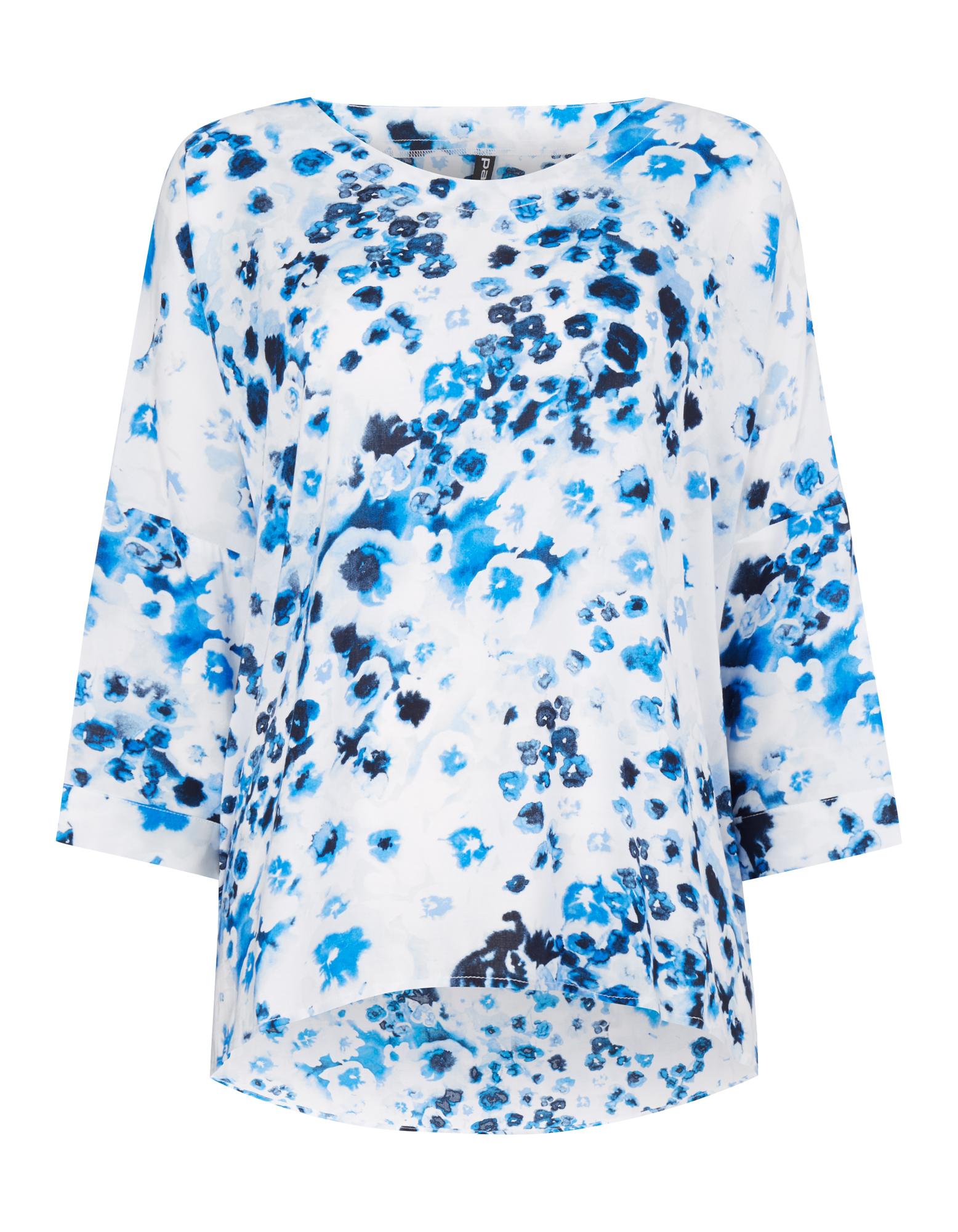 Damen Blusenshirt mit floralem Muster