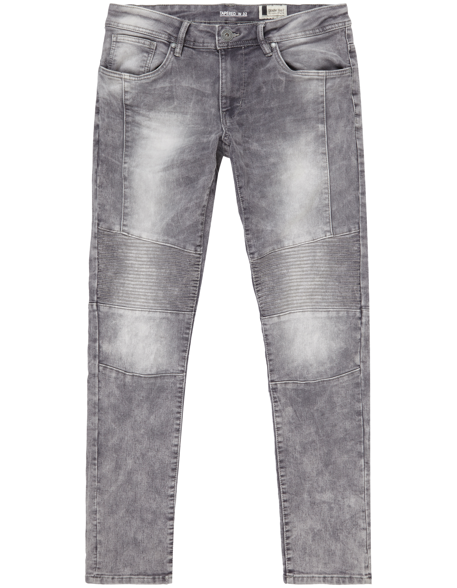 Herren Tapered Fit Jeans im Biker-Look  | 81414631430207