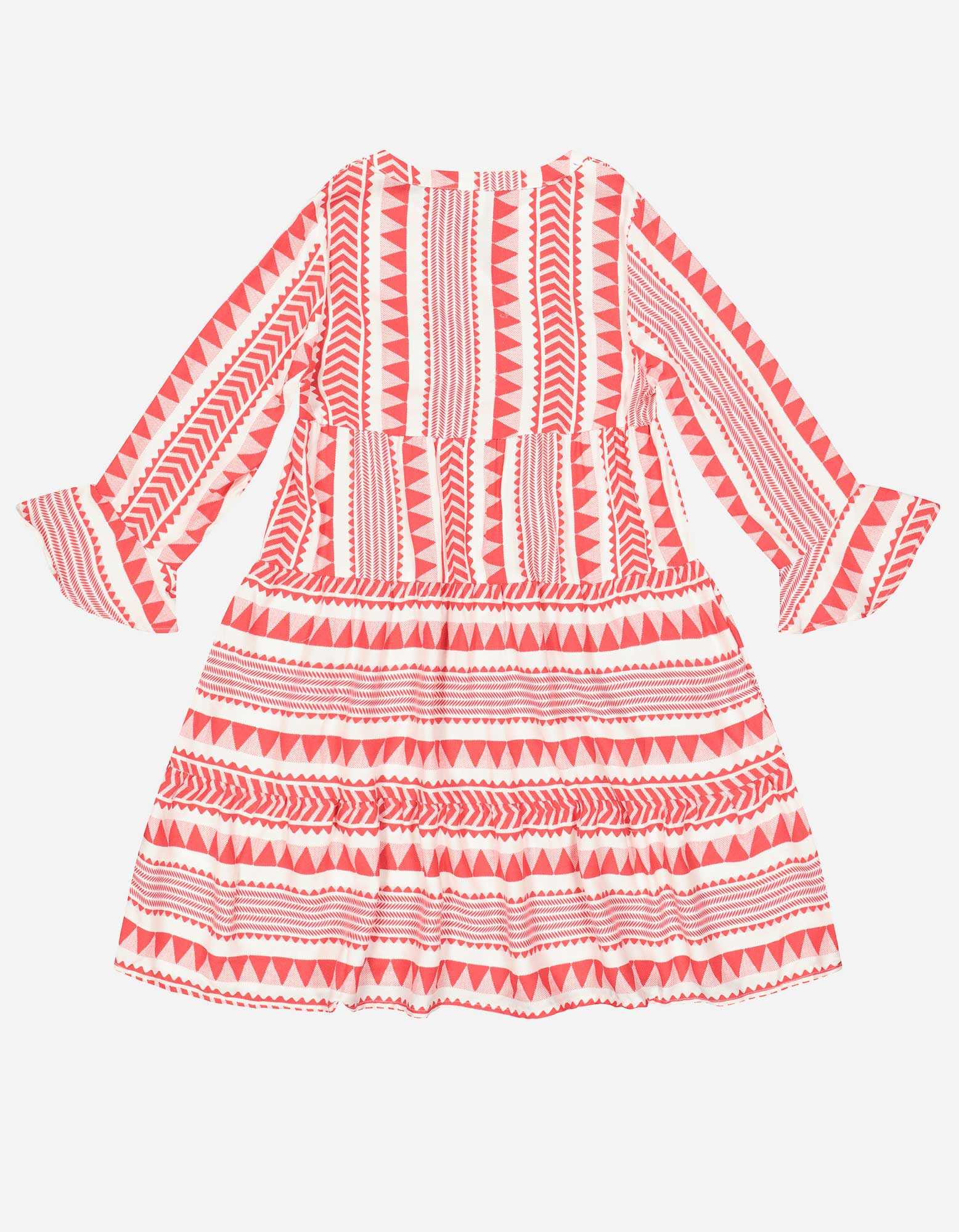 Madchen Kleid Aus Viskose Takko Fashion