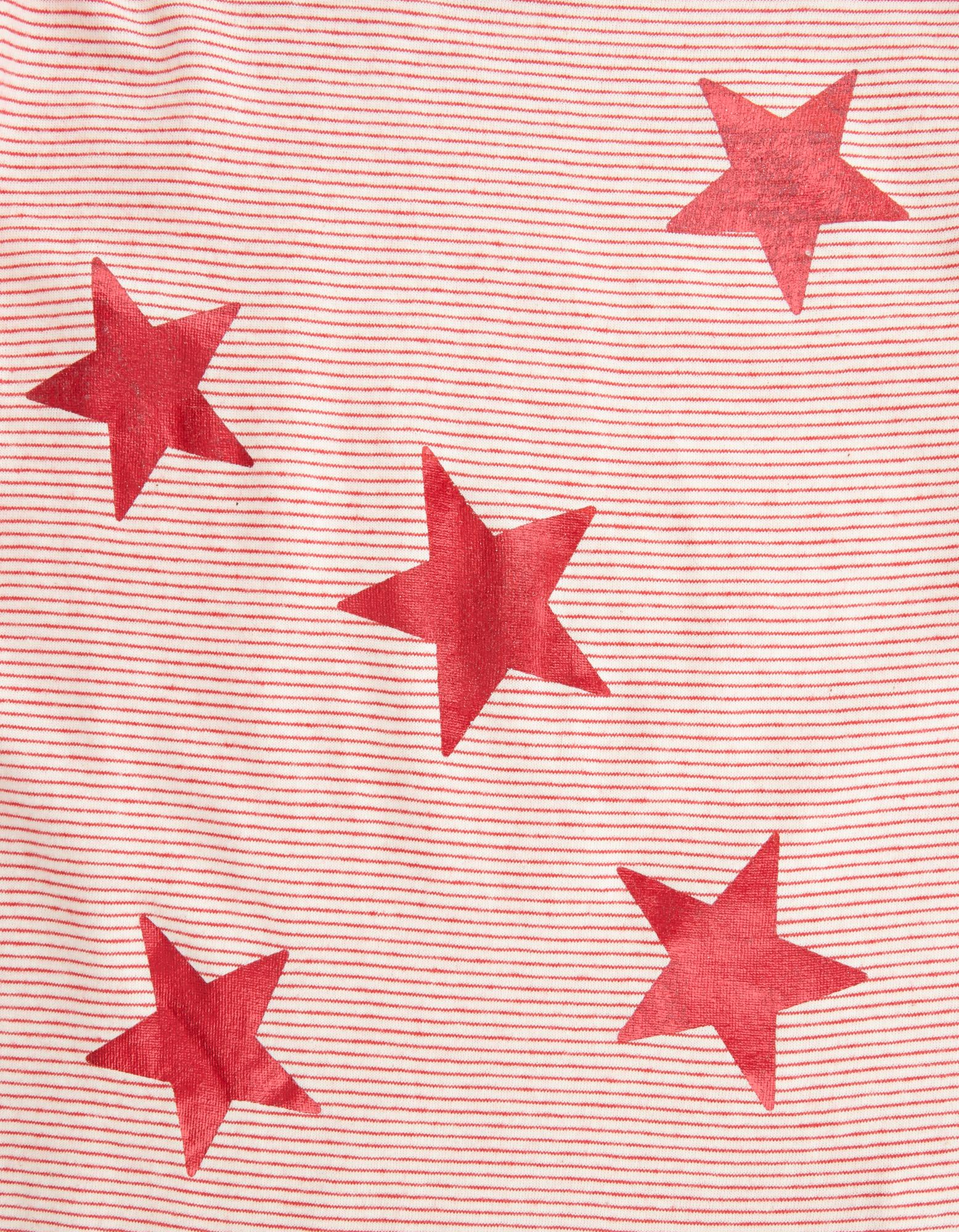 Mädchen Longsleeve mit Trompetenärmeln und Print pink | 81512048010705