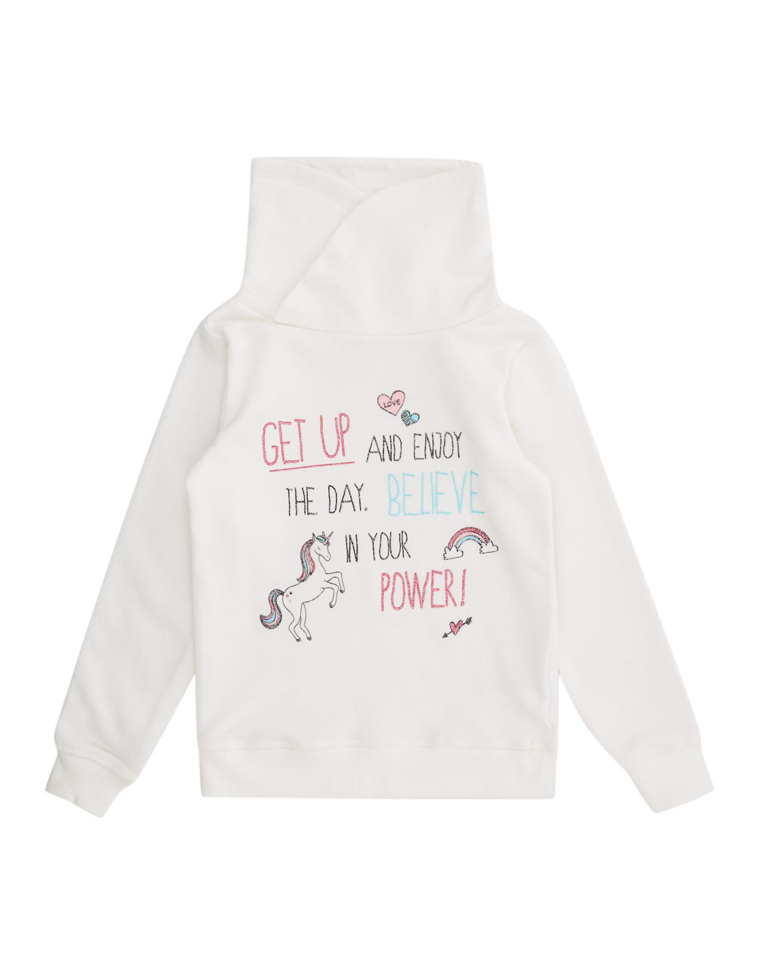 Mädchen Sweatshirt mit Tube Collar und Print  | 81503098000907