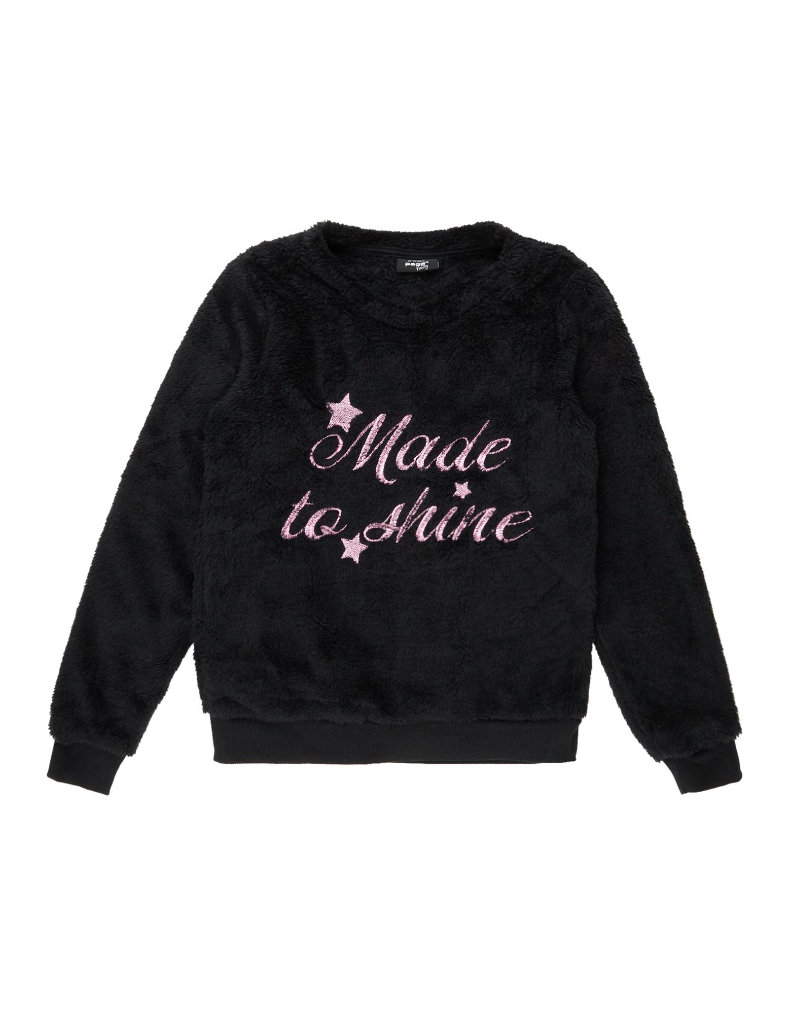 Mädchen Sweatshirt aus Teddy-Fleece  | 81486841800309