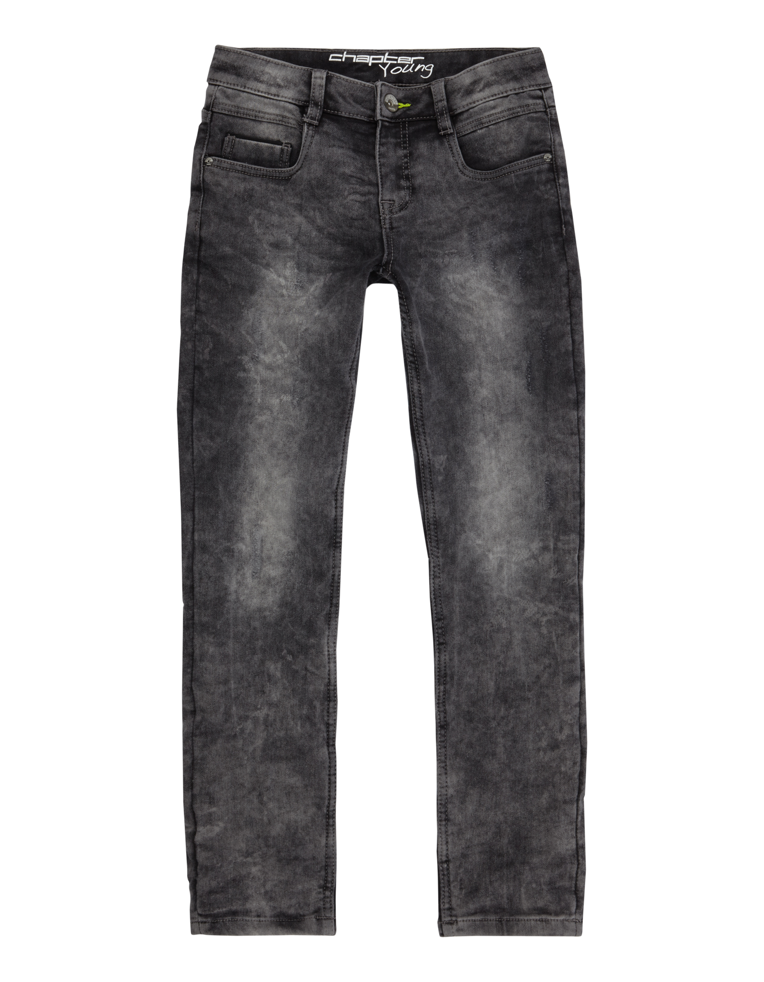 jungen skinny fit jeans im used look takko fashion. Black Bedroom Furniture Sets. Home Design Ideas