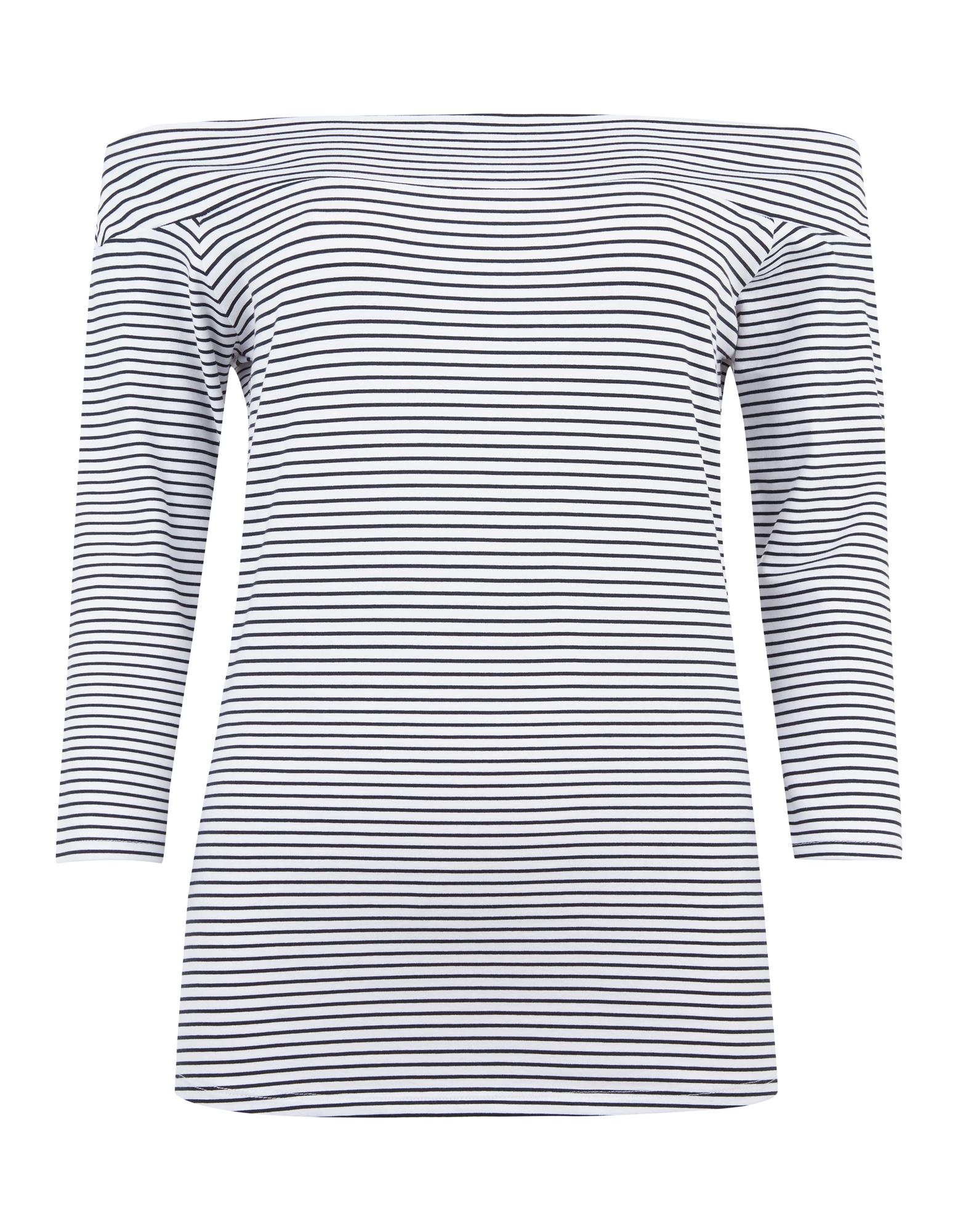 20b511c442778d Damen Shirt mit U-Boot-Ausschnitt - Takko Fashion
