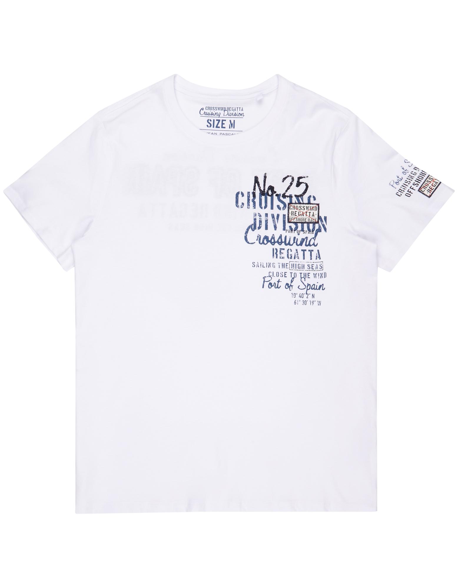 Herren T-Shirt mit Print und Aufnäher    81466731000606