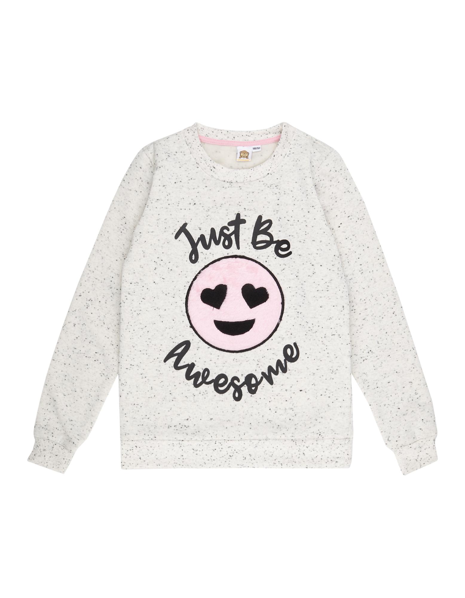 Mädchen Sweatshirt mit Phonicons-Aufnäher pink | 81546541370400