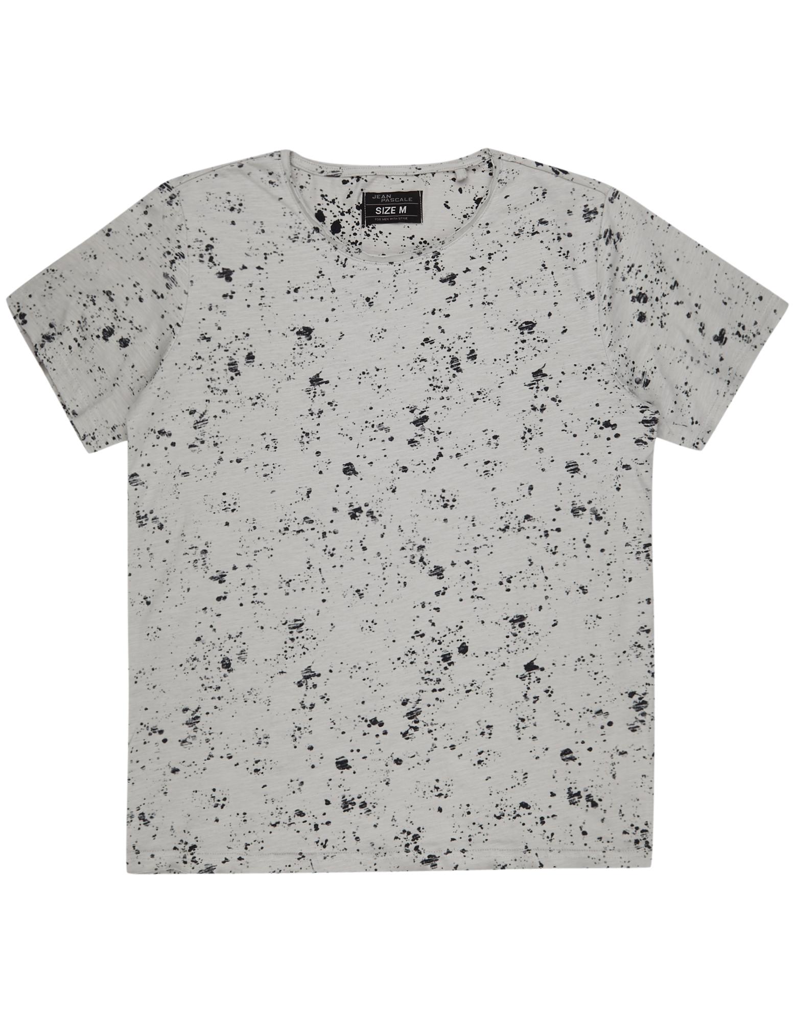 Herren T-Shirt mit Spray-Muster    81425141240606