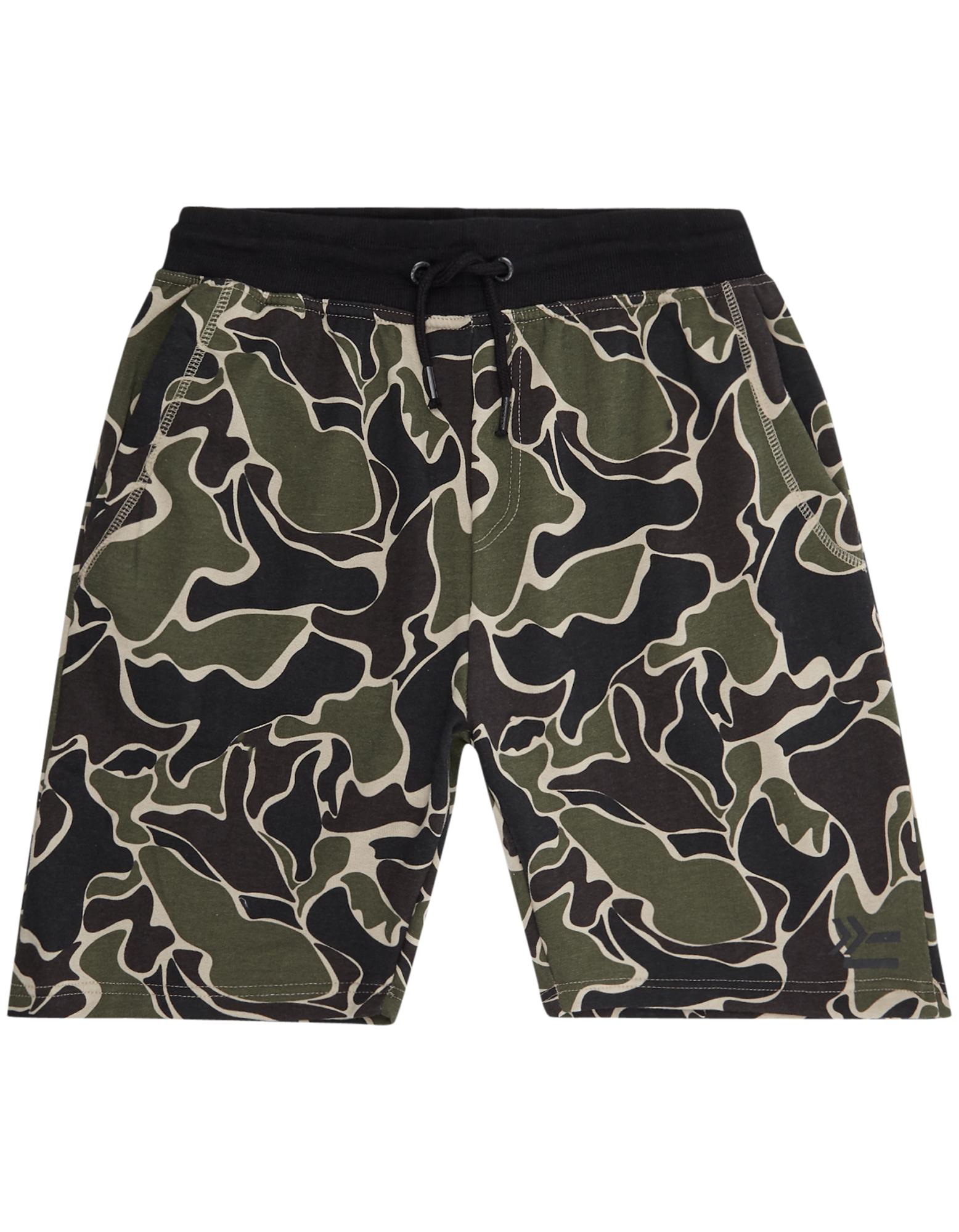 Herren Sweatshorts mit Camouflage-Muster  | 81507631900303