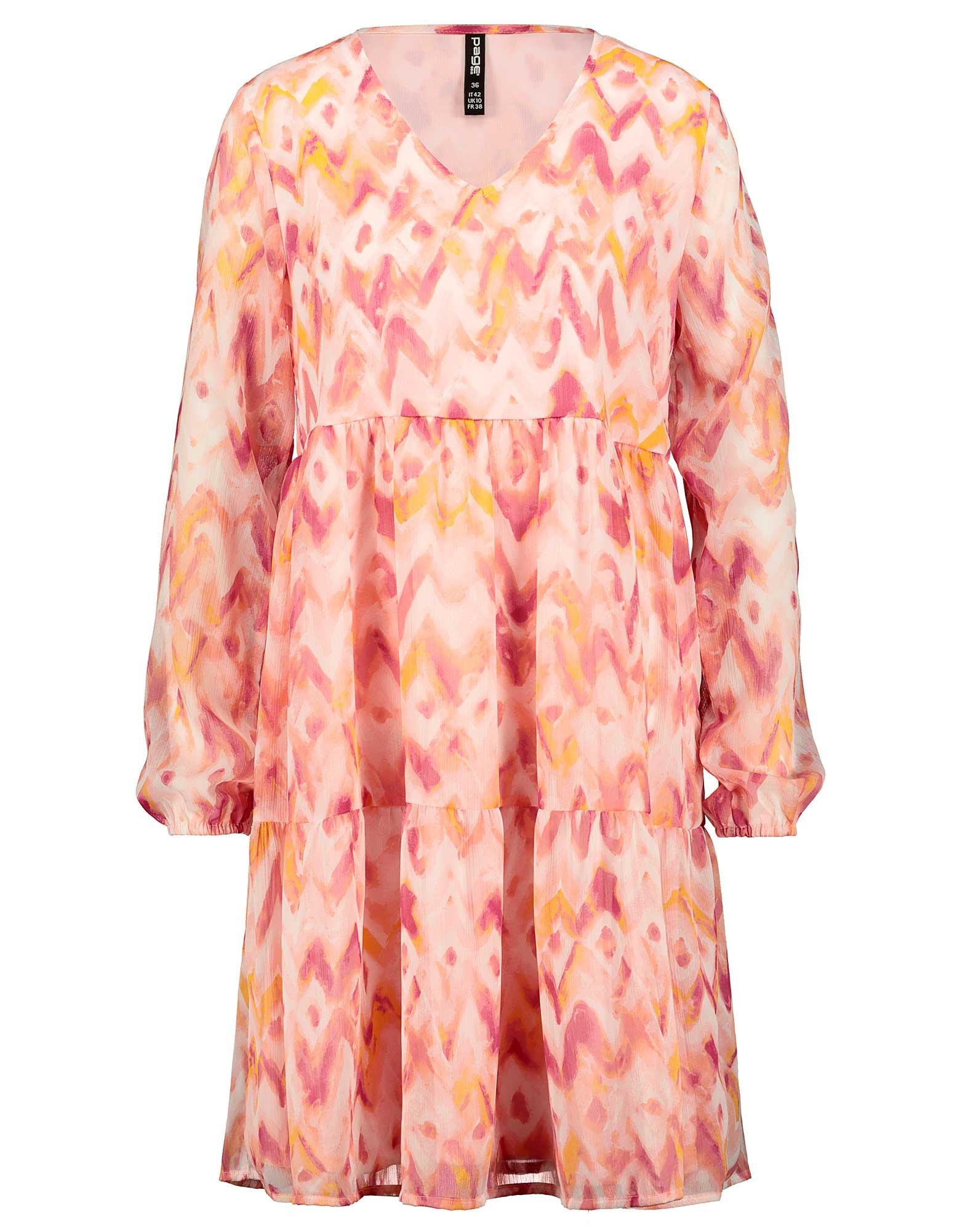 Damen Kleid im Stufenlook - Takko Fashion