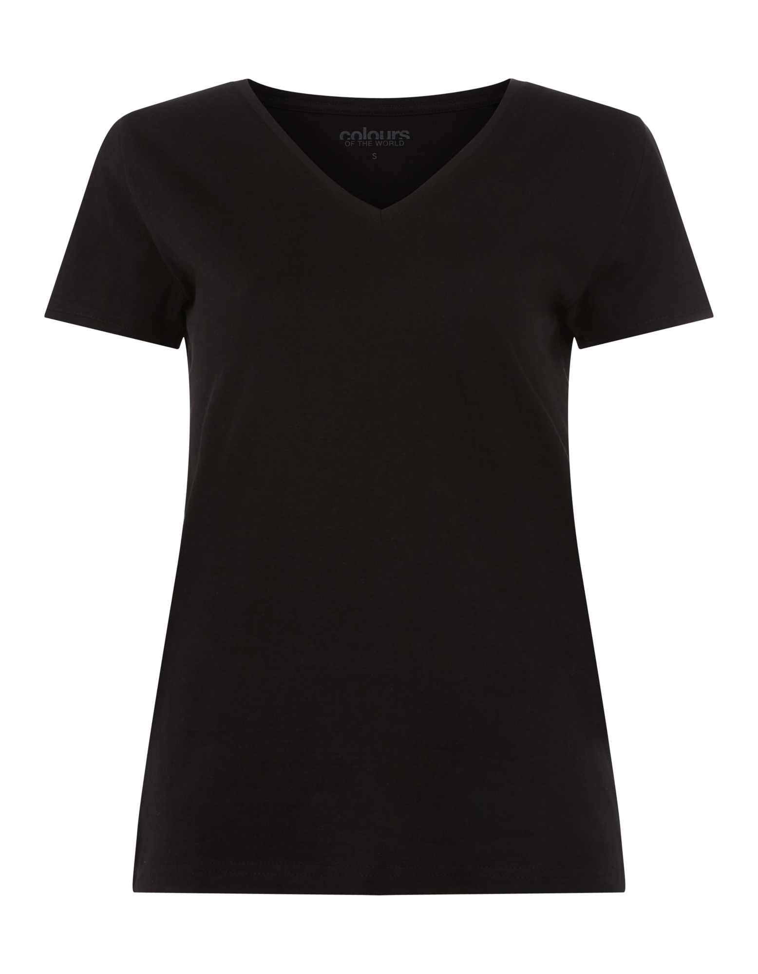 damen t shirt mit v ausschnitt takko fashion. Black Bedroom Furniture Sets. Home Design Ideas