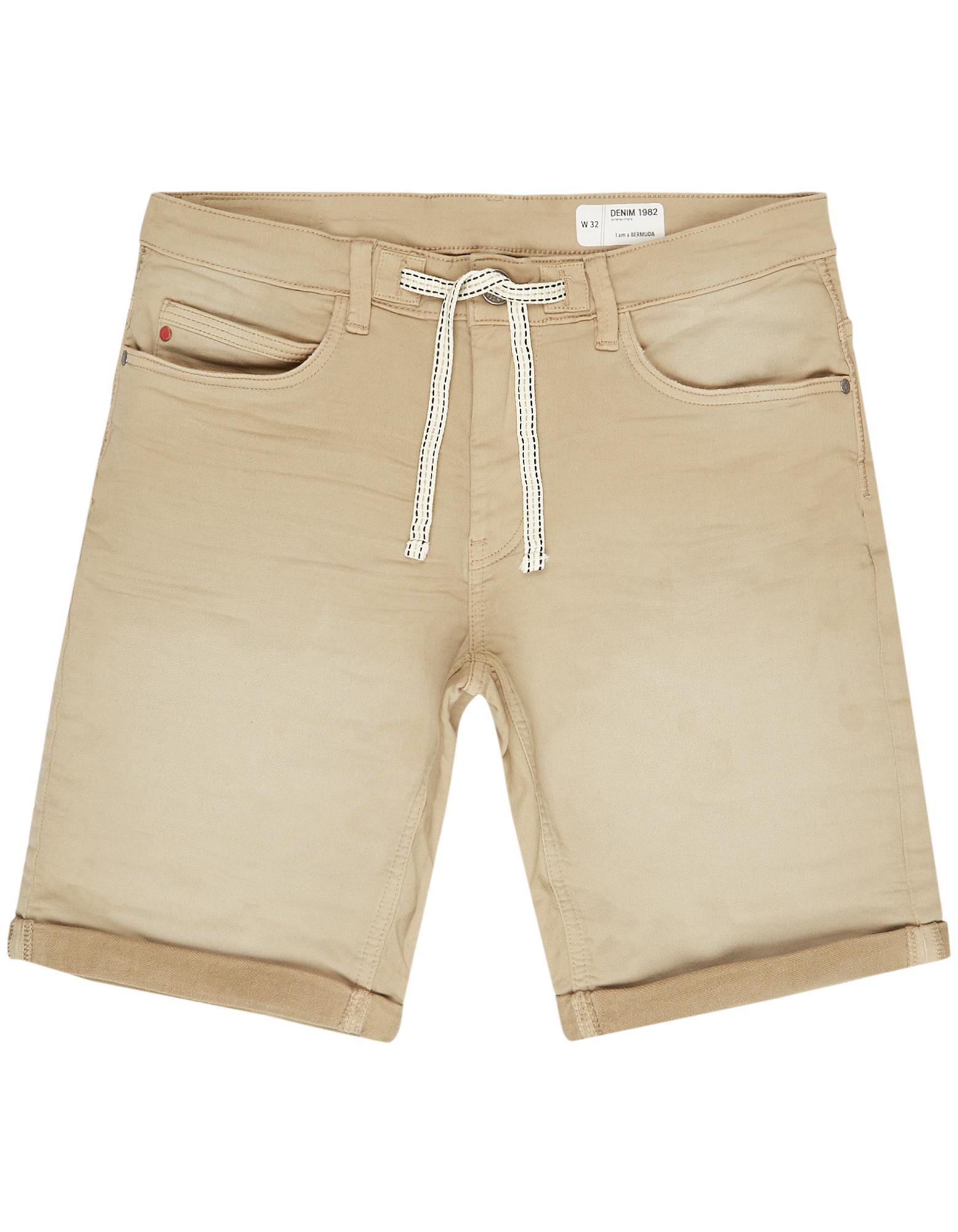 Herren Jeansbermuda mit Tunnelzug | Bekleidung > Shorts & Bermudas > Jeans Bermudas | Hellgrau | Takko